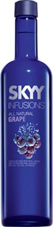 Skyy Vodka Infusions Grape